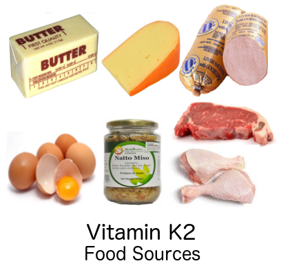 Vitamin K1 food sources
